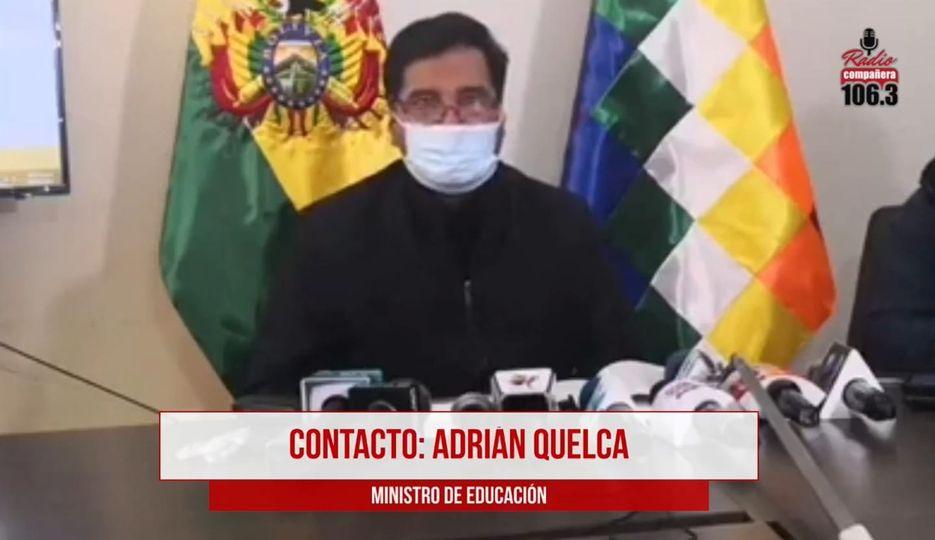Ministro Quelca asevera que las pruebas en su contra son falsas