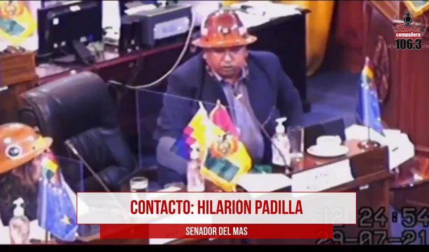 """Padilla no se disculpará con la Barrientos por declarar que no discutiría con ella """"porque es mujer"""""""