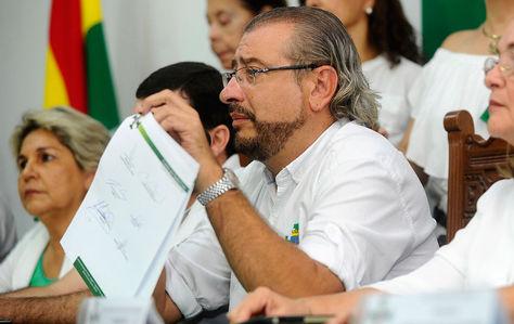 Comité Pro Santa Cruz asevera que el Gobierno está llevando maquinaria para ocupar la Chiquitania