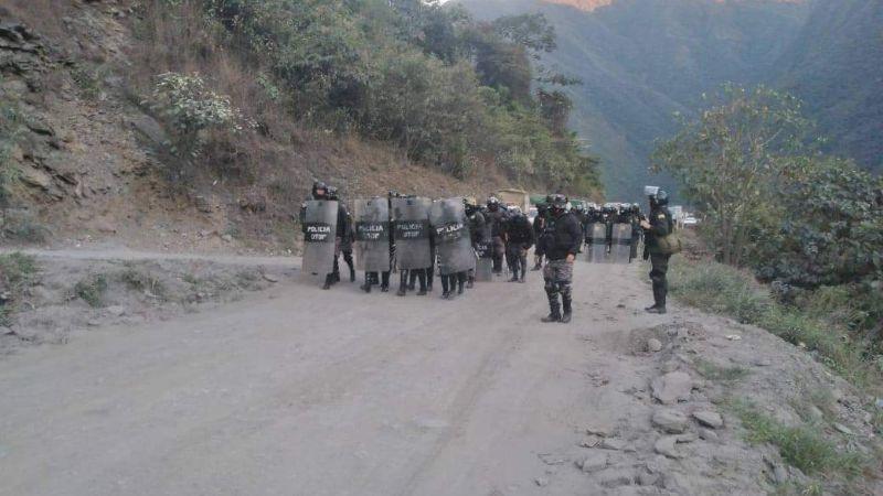 Alrededor de 20 efectivos ya declararon sobre el fallecimiento del policía en Coripata