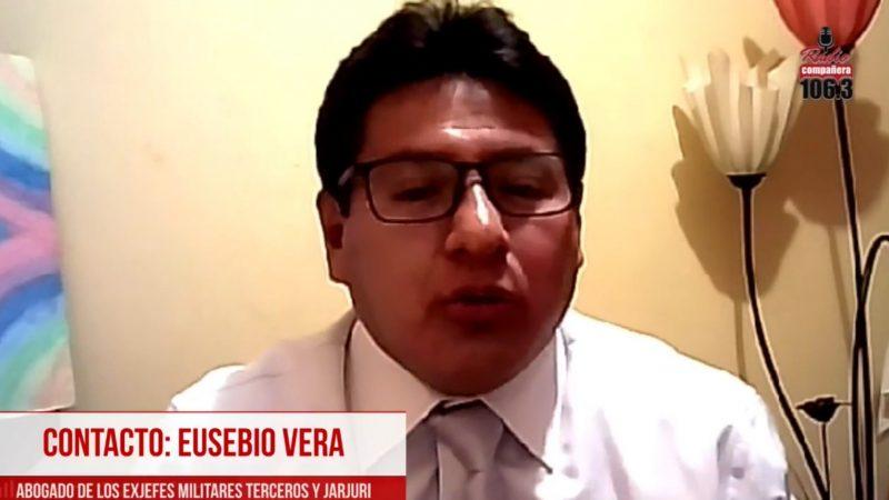 Vera: Si hubo insubordinación entonces Zavaleta también se insubordinó porque en todo momento se coordinaba con él