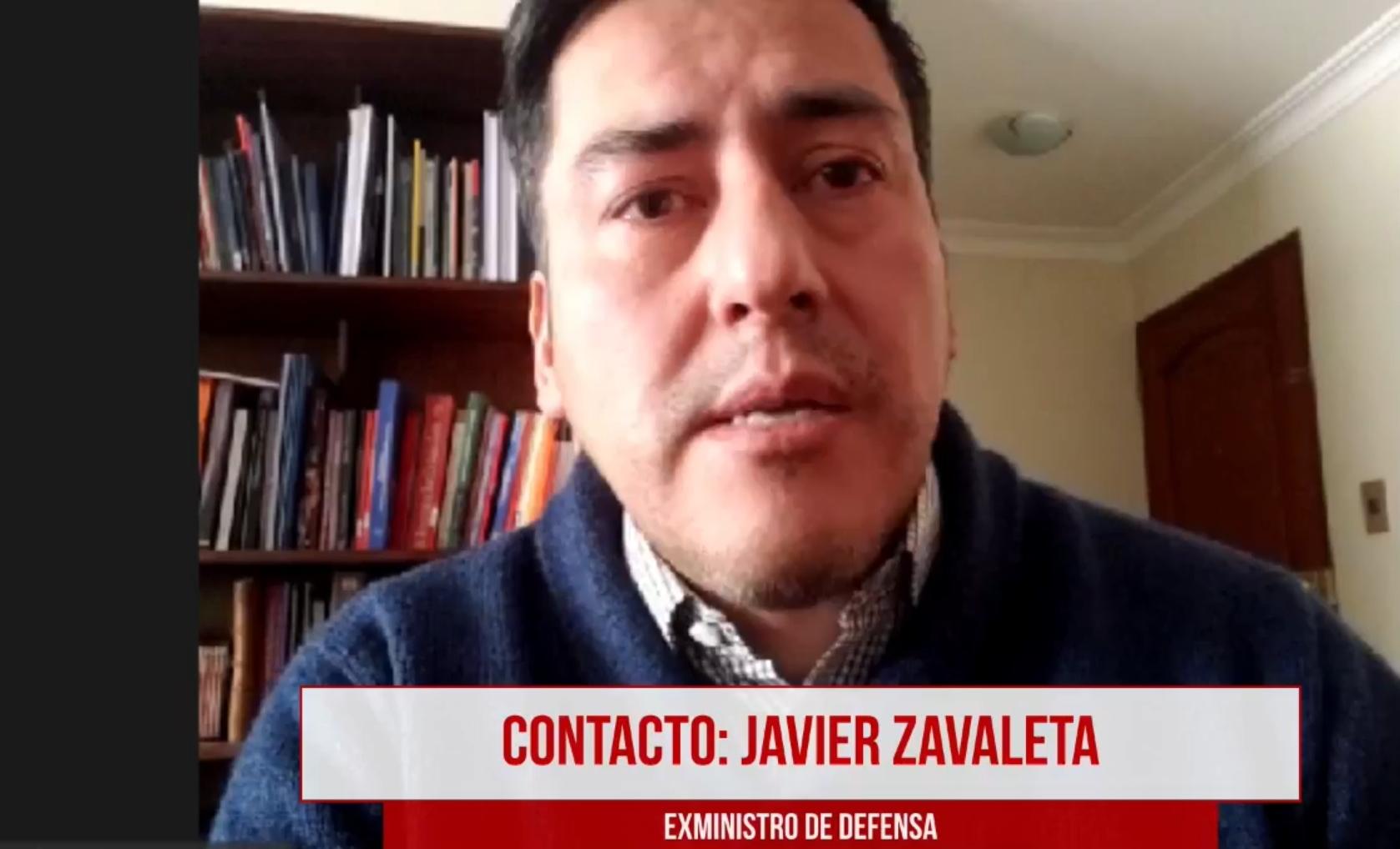 """El exministro Zavaleta asevera que hubo un """"golpe militar"""" en 2019"""