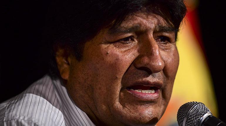 """Morales considera que los """"militares golpistas"""" quieren conseguir impunidad usando la """"falsedad"""""""