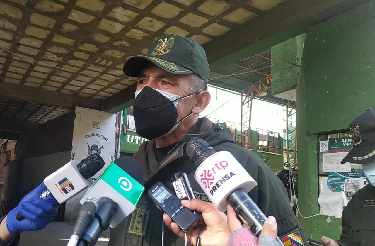 Policía de La Paz afirma que gran porcentaje de los efectivos se están vacunando