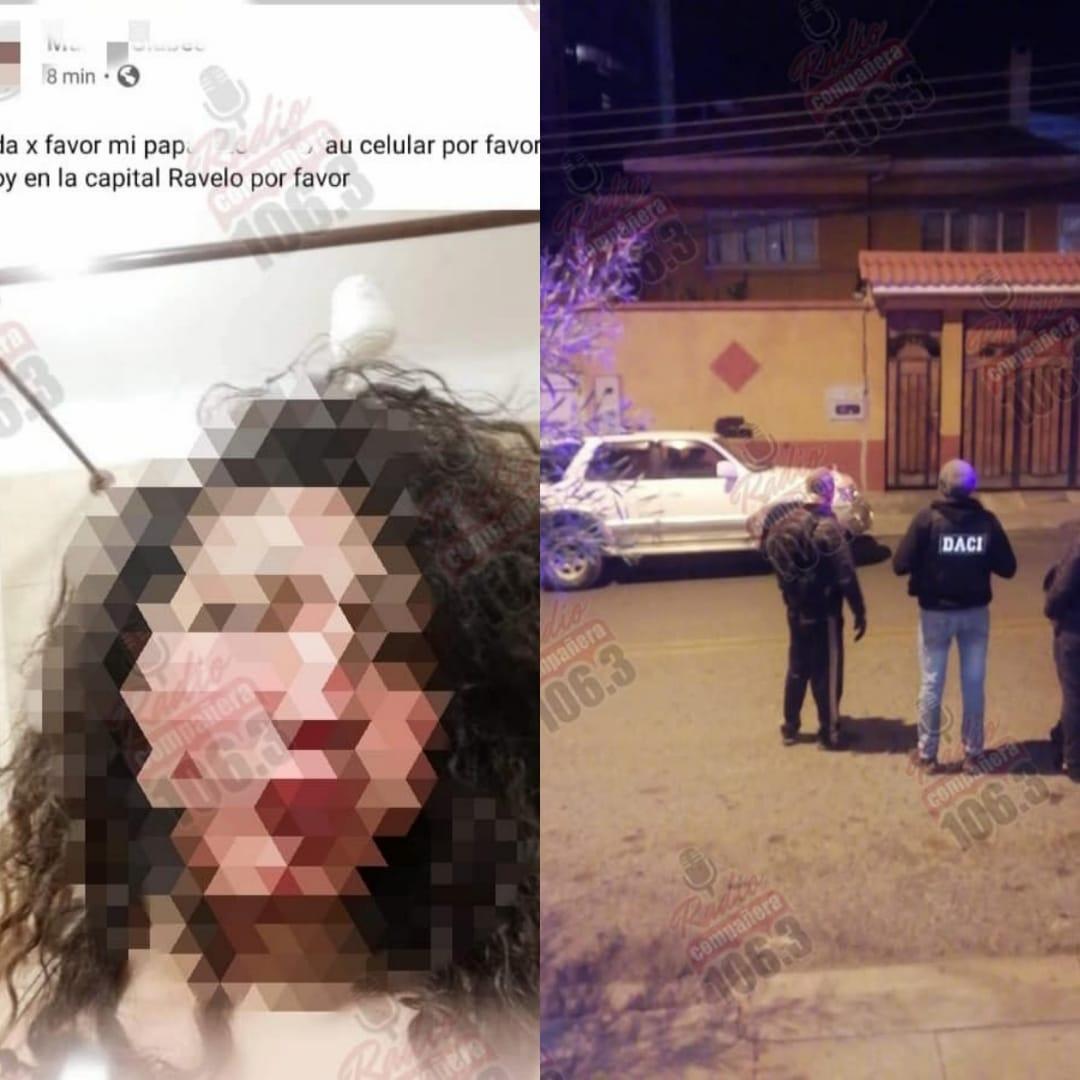 """Secuestró a su exnovia en el entretecho de su casa, ella lo denunció a través de una """"selfie"""""""