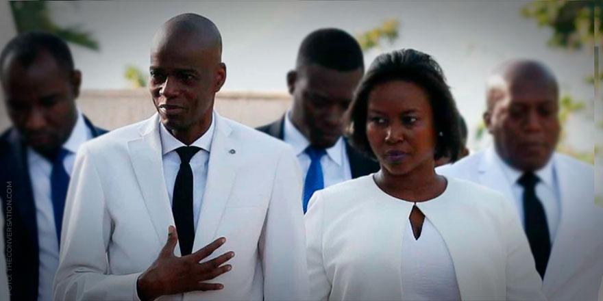 Arce condena el asesinato del presidente y la primera dama de Haití