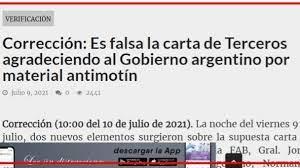 """Bolivia Verifica retira por ahora categoría de """"falsa"""" de nota atribuida a Terceros"""