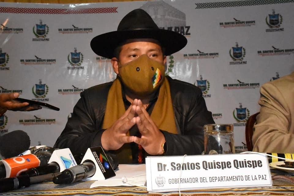 Quispe anuncia vacunación masiva el 25 de julio para El Alto