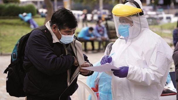 Ministerio de Salud registra 608 nuevos casos de COVID-19 a nivel nacional