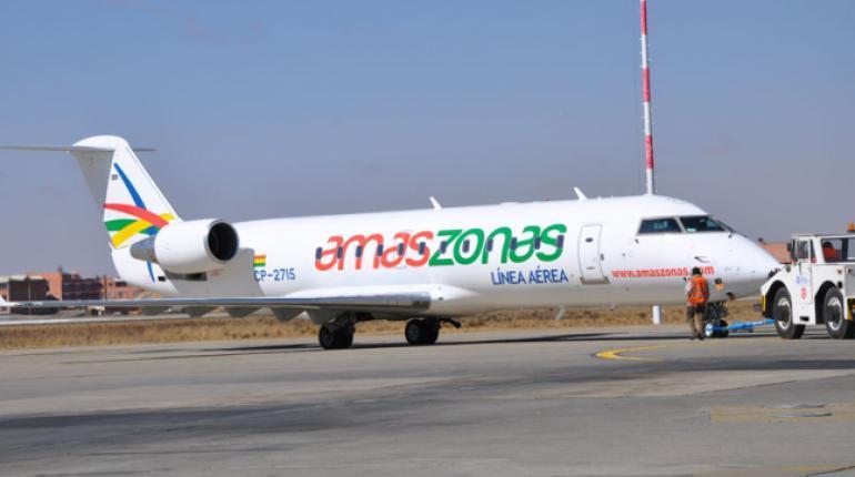 Venden Amaszonas a empresario brasileño por la crisis económica causada por la pandemia