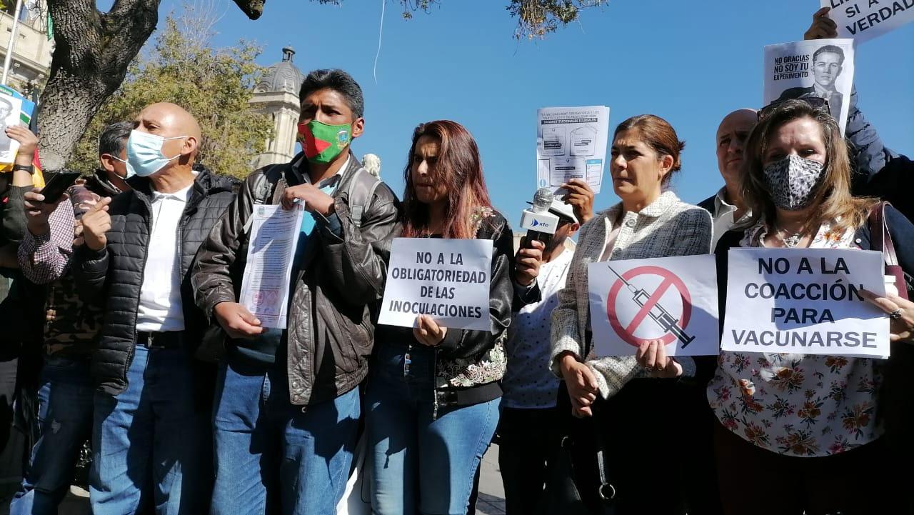 Comité Cívico de El Alto rechaza la propuesta de vacunación obligatoria contra el COVID-19