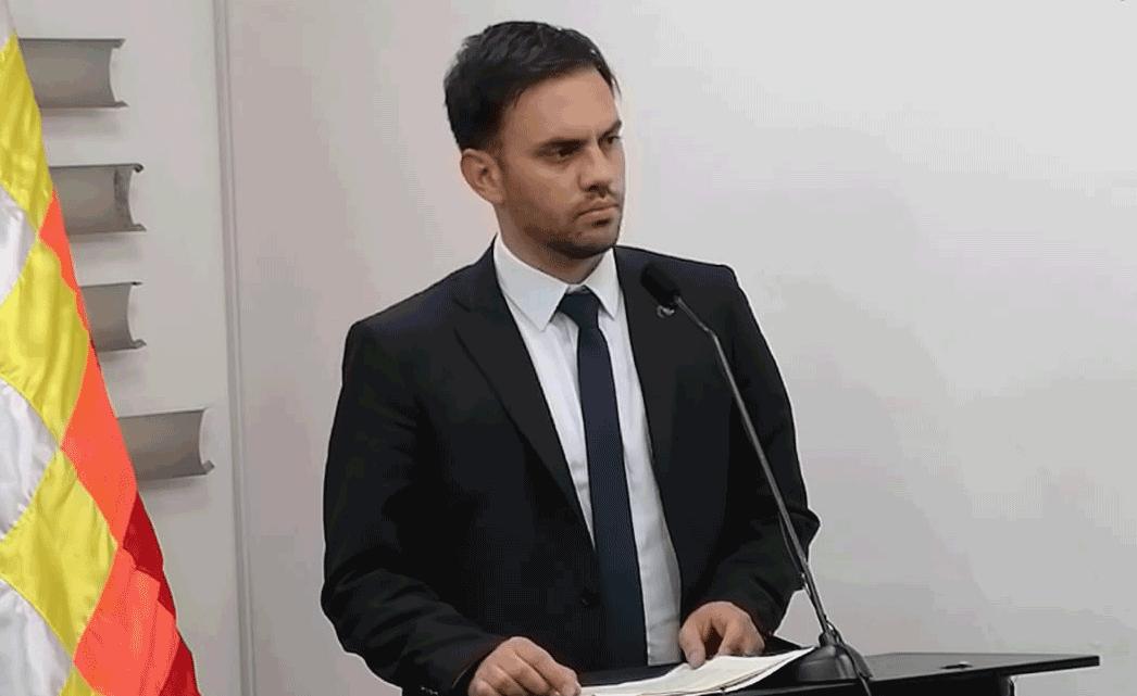 Del Castillo ratifica que será parte del mando policial
