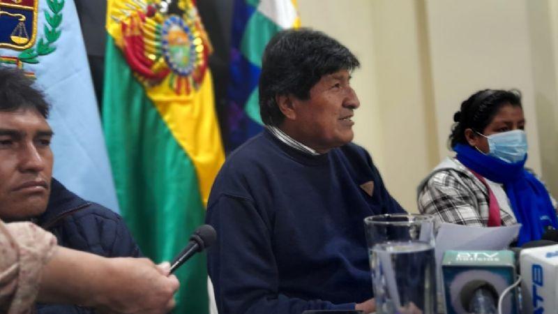 """Morales considera que el informe de GIEI dejó """"aturdidos a los golpistas"""""""