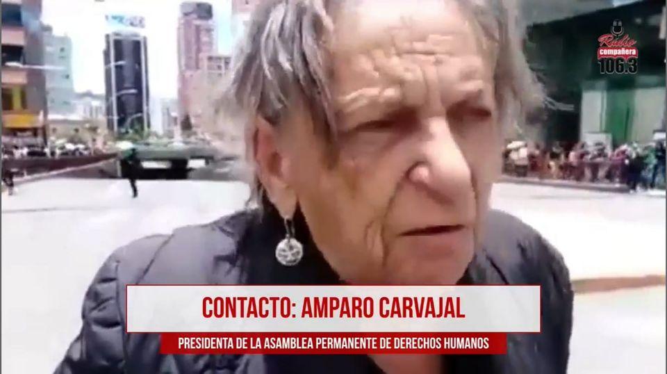 Presidenta de APHDB denuncia que Régimen Penitenciario le impidió visitar a Añez