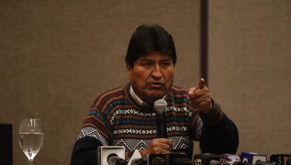 Morales asevera que 10 días antes de su renuncia no aceptó la compra de municiones solicitadas por FF.AA.