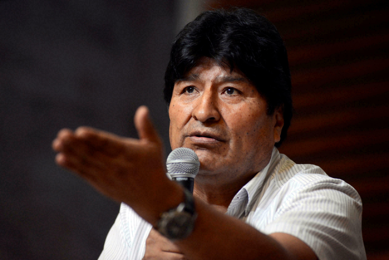 """Morales considera que Mesa """"ofrece reconciliación, pero busca impunidad"""""""