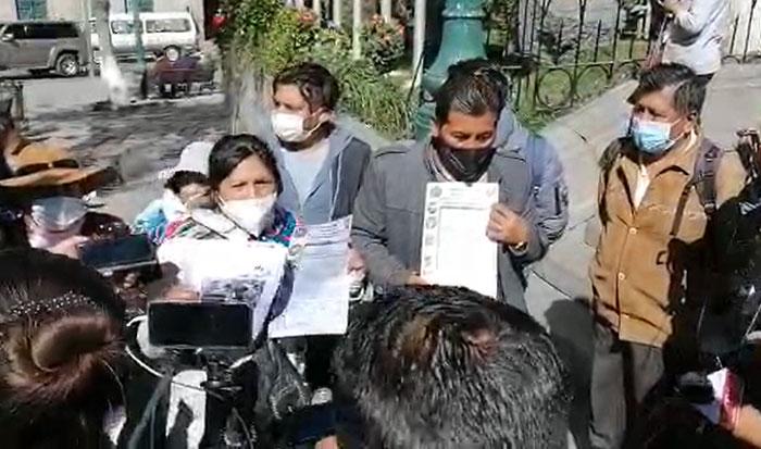 """""""Autoconvocados"""" de El Alto amenazan con cercar la cárcel de Miraflores si Añez sale del penal"""