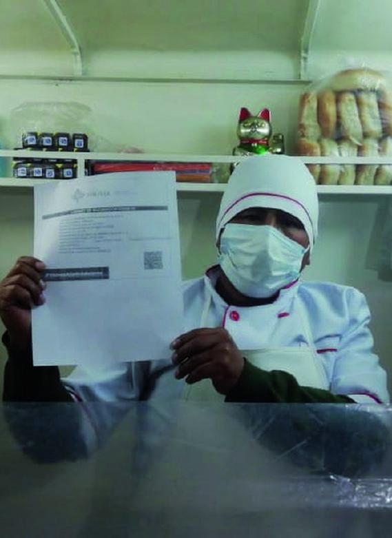 Alcaldía de La Paz inicia el control del carnet de vacunación en actividades comerciales