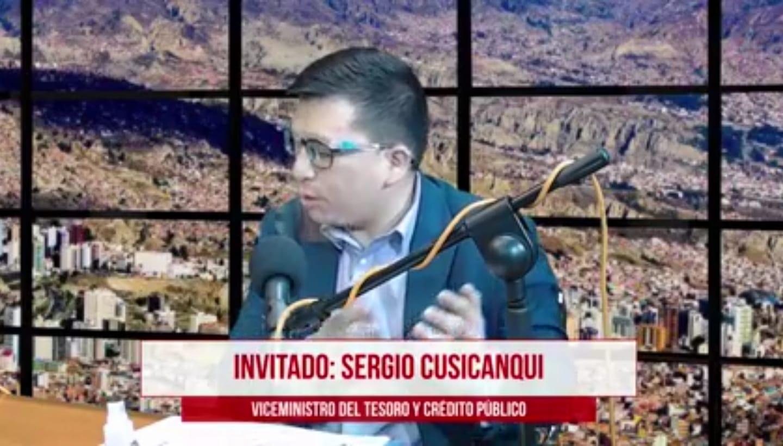Viceministro Cusicanqui destaca que ya se ha iniciado la reconstrucción de la economía