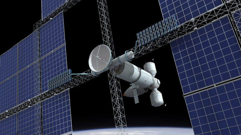 China planea construir una planta gigante de energía solar en el espacio
