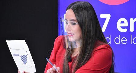 Ministra Mendoza destaca que la tasa de desempleo bajó a 6.4%