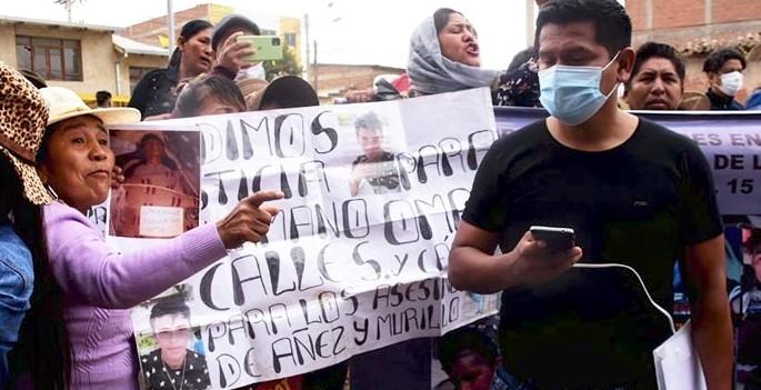 Víctimas de Sacaba anuncian medidas para impedir la liberación de Añez