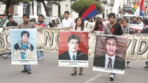 CIDH acepta demanda por los muertos de La Calancha tras 6 años de espera