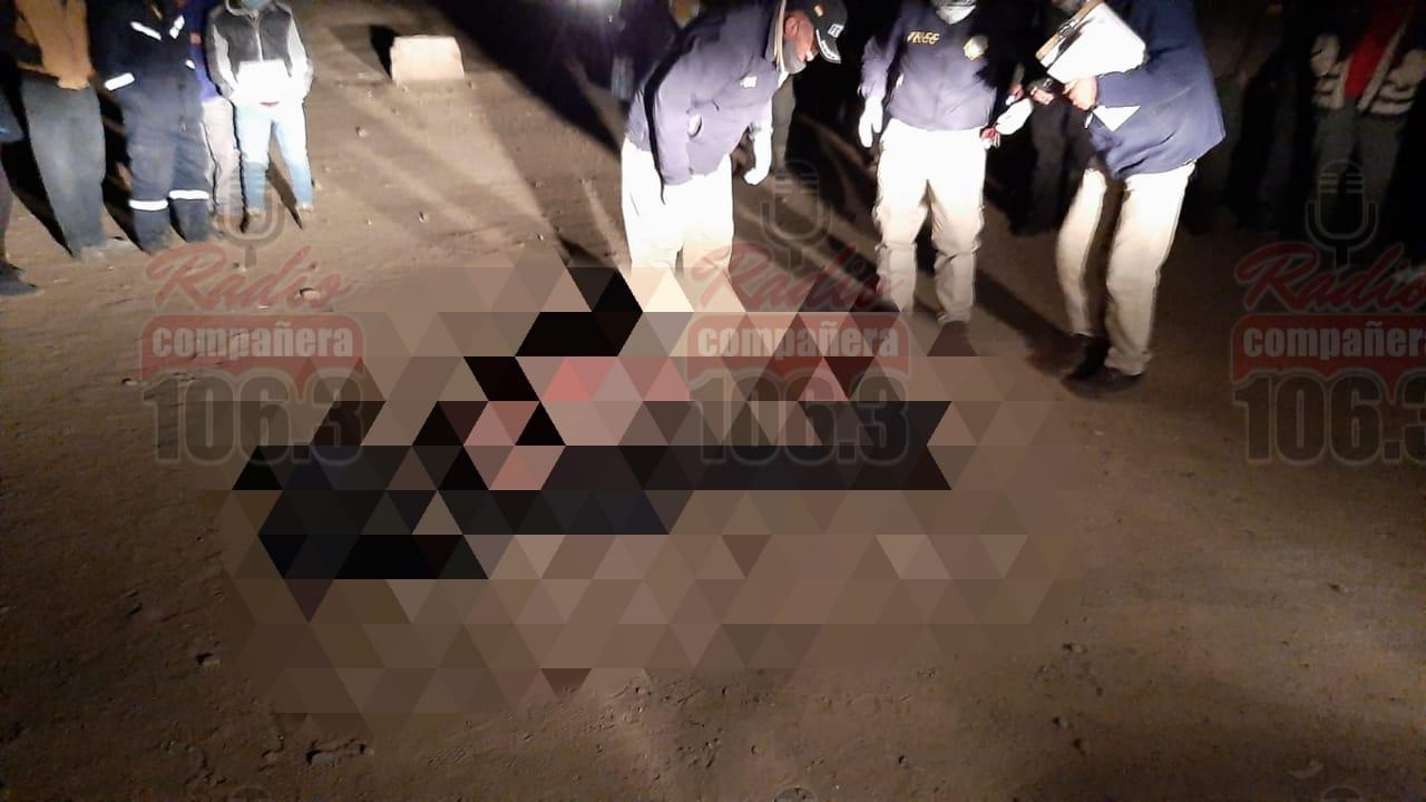 Queman a un hombre acusado de robo en Patacamaya