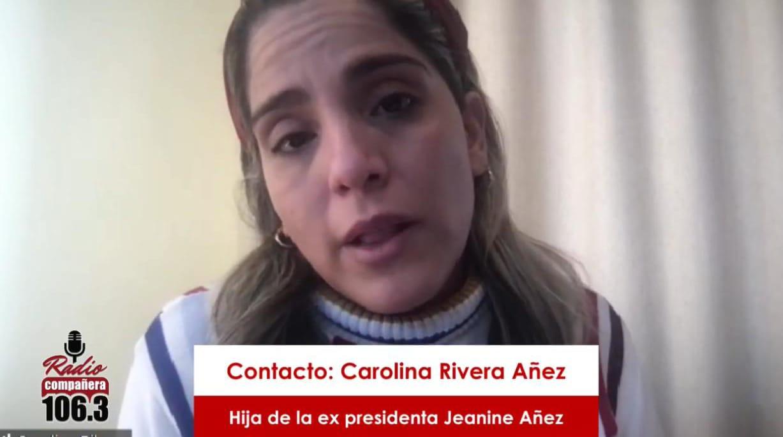 """Hija de Añez: el régimen penitenciario """"monto un show"""" al trasladar a mi madre a un hospital"""