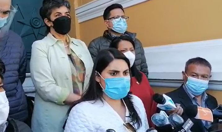 Comunidad Ciudadana denuncia que el MAS trató de sobornar a cuatro diputados