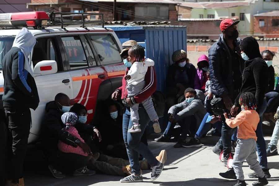 Policía halla el cadáver de una ciudadana haitiana en un hostal de la zona Cementerio en La Paz
