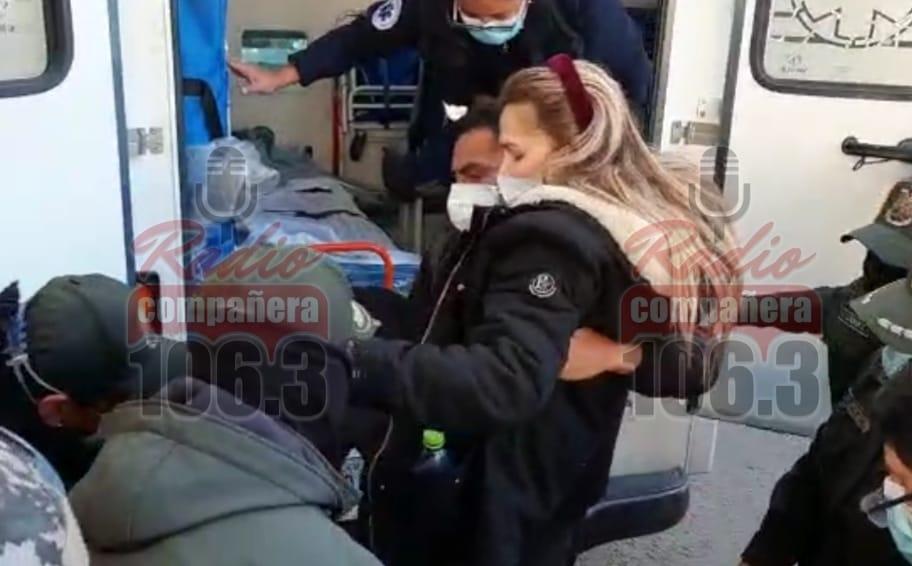 """Hija de Añez: """"la van a matar a mi madre, no me dejan verla"""""""