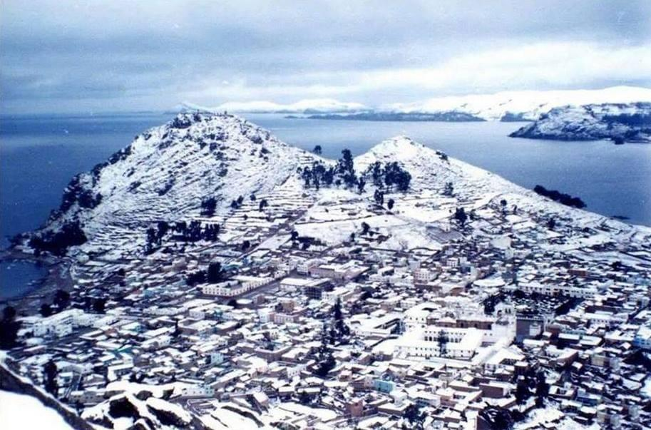 Intensa nevada provoca la suspensión de salidas a Potosí
