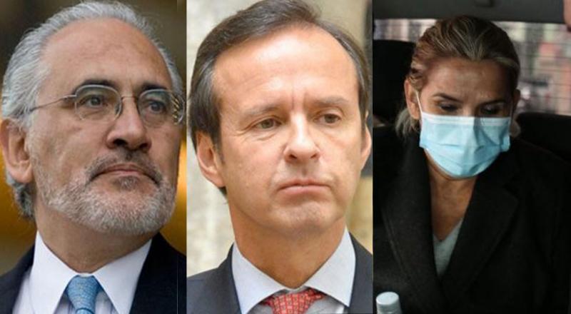 Políticos piden que Añez se defienda en libertad tras su intento de suicidio
