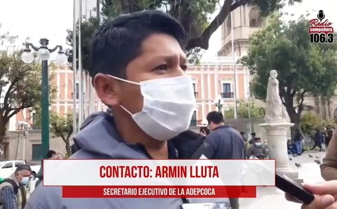 Armin Lluta propone un referéndum sobre el consumo de coca