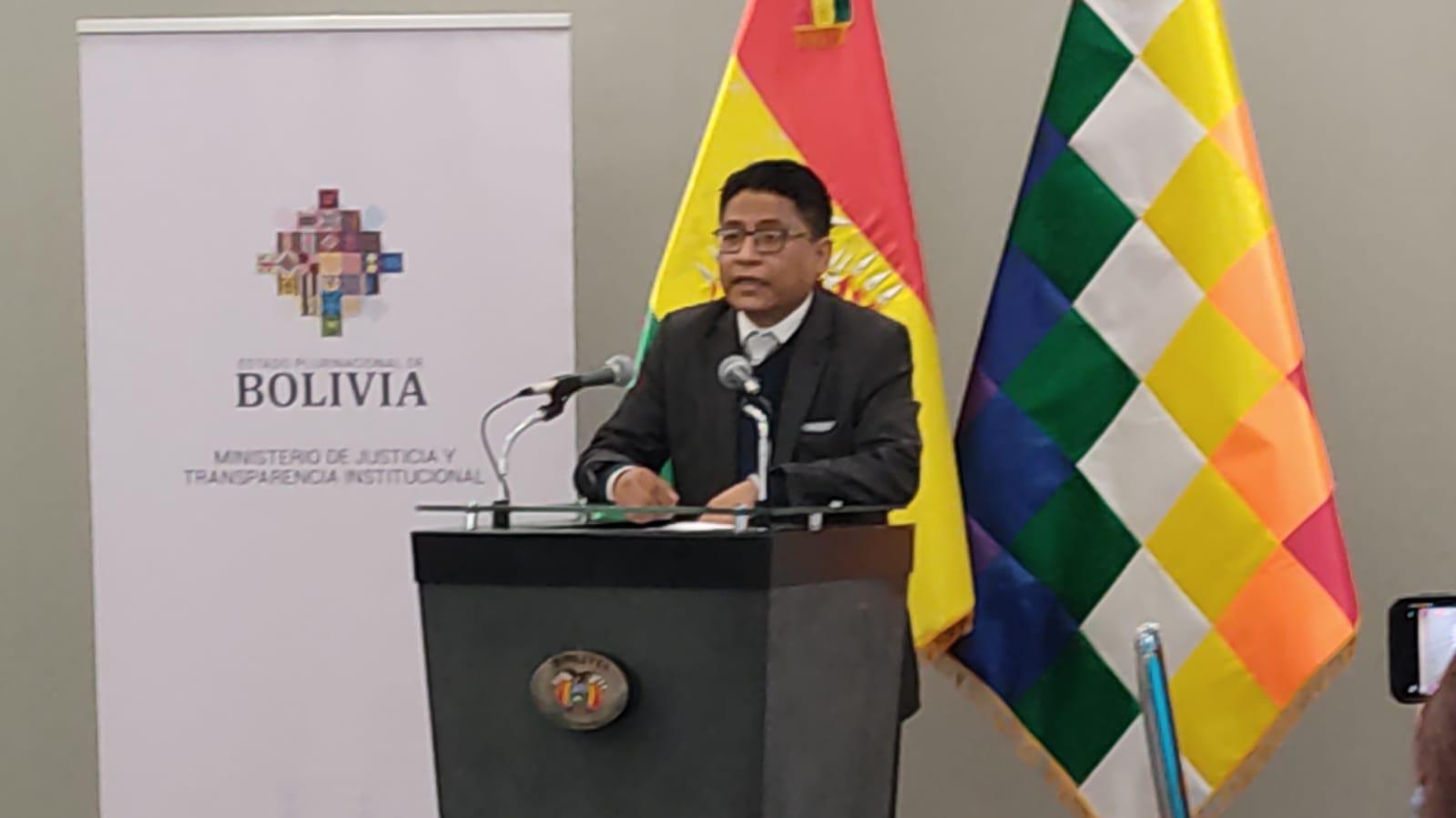 """Ministro Lima anuncia que """"tomará la palabra de CC"""" respecto a la reforma de la justicia penal en 90 días"""