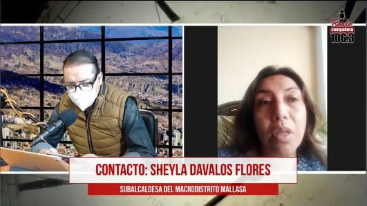 Alcaldía explica que la subalcaldesa de Mallasa fue destituida por intentar urbanizar áreas forestales