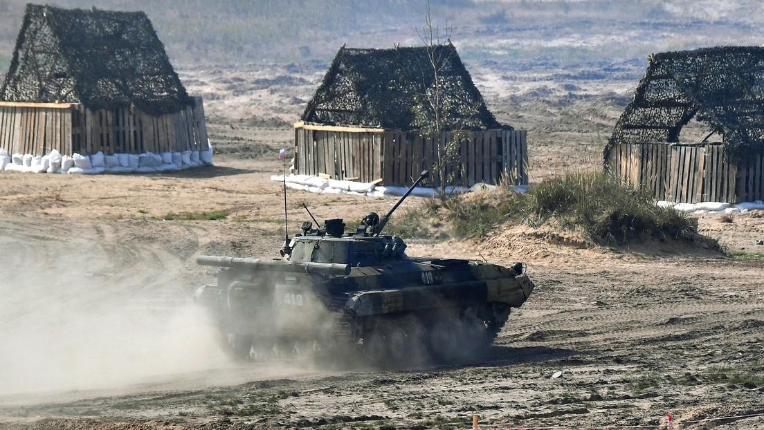 Rusia usa por primera vez robots de combate en ejercicios militares