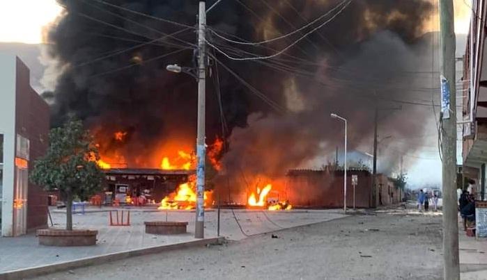 Reportan alrededor de 12 heridos por la explosión en los depósitos de Sedcam en Camargo