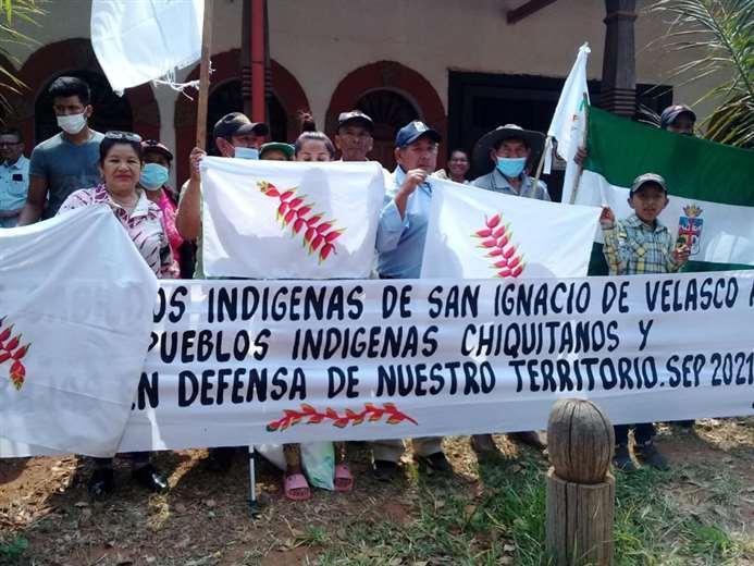 Un centenar de chiquitanos de San Ignacio se unirá a la marcha indígena