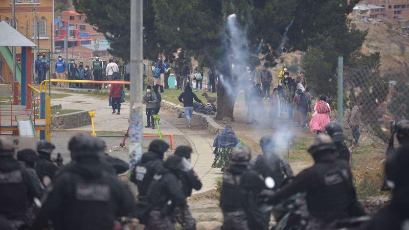 Defensoría del Pueblo advierte que la Policía hizo uso desproporcional de la fuerza contra los cocaleros
