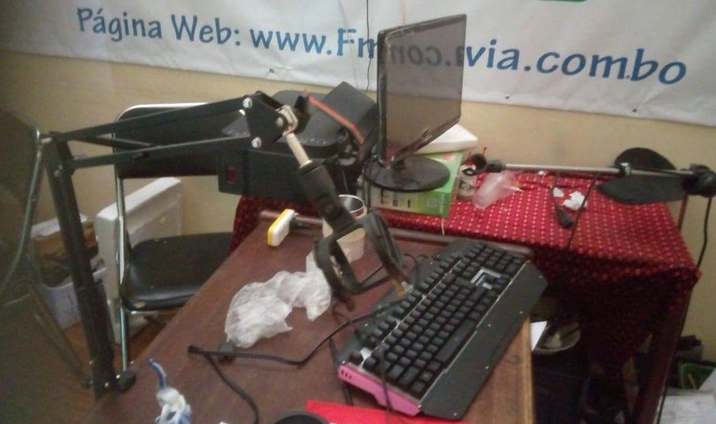 FM Bolivia denuncia el robo de sus oficinas en el mercado de Adepcoca
