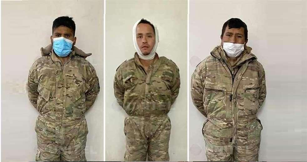 Chile pide a militares bolivianos detenidos que admitan sus delitos