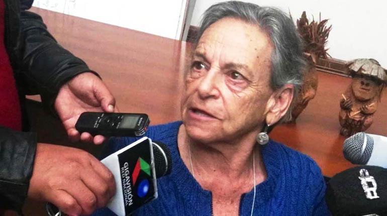 David Inca exige que Amparo Carvajal sea suspendida de la APDHB