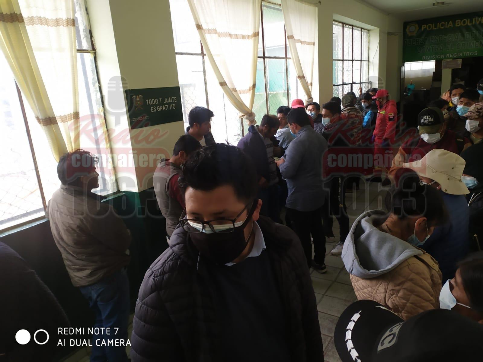 FELCC aprehende a 32 personas durante los enfrentamientos entre sectores cocaleros