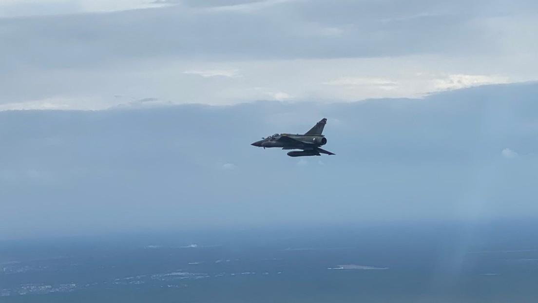 Fuerza Aérea de Francia busca una bomba perdida durante ejercicios militares