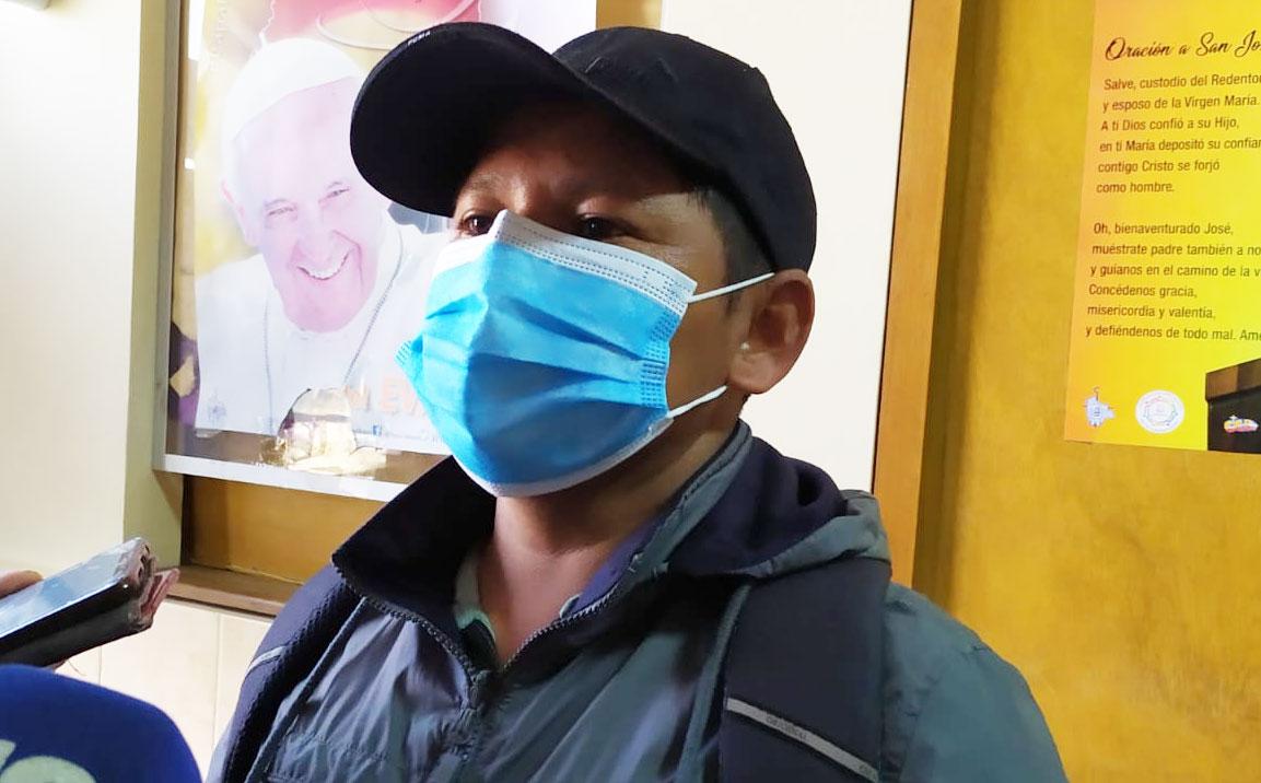 """Lluta al Ministro Del Castillo: """"Si yo soy el problema, pues de una vez detenme, pero ya no maltrates a los Yungas"""""""