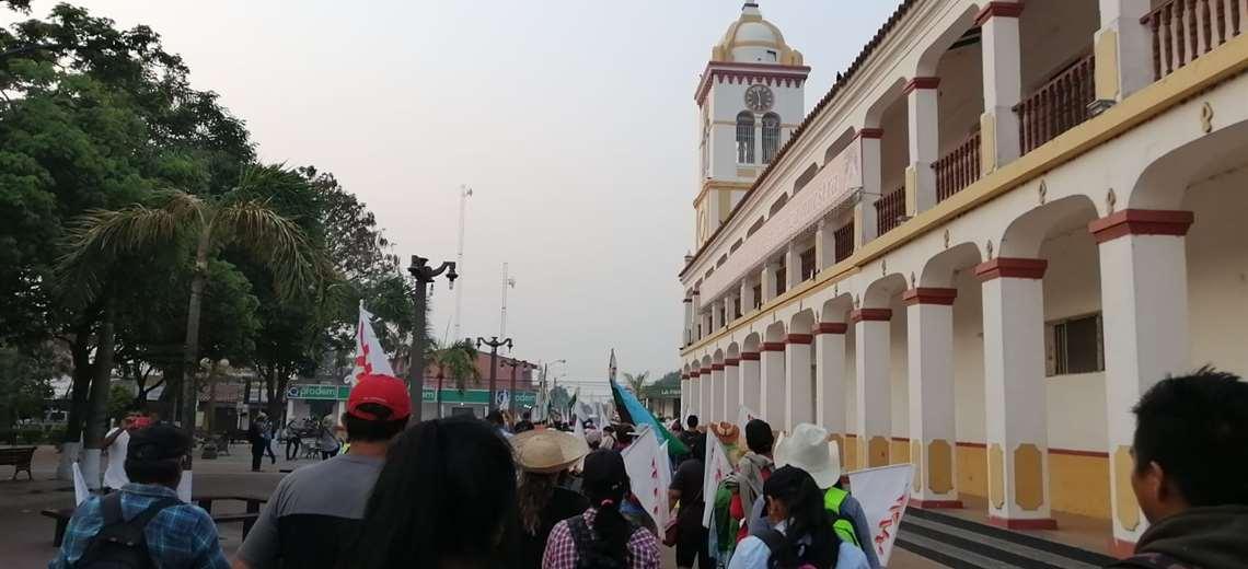 La marcha indígena llega a Cotoca y espera que Arce acepte una reunión con el sector