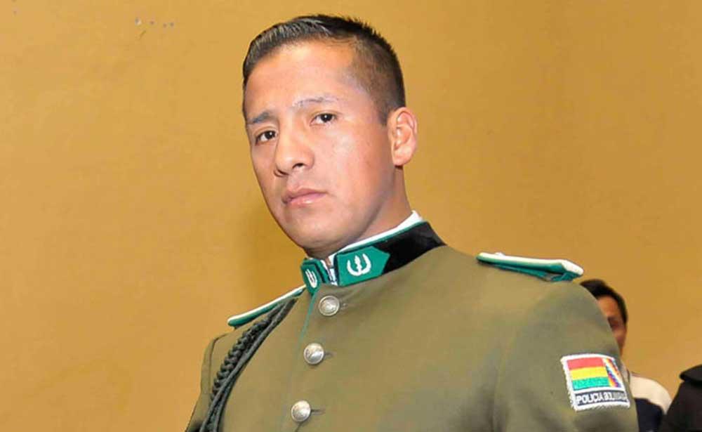 Citan al teniente Franklin Mamani por las muertes en la zona Sur de La Paz durante 2019