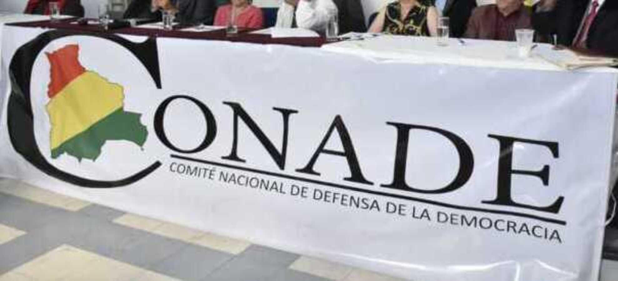 Conade convoca a un encuentro nacional por la defensa de la democracia